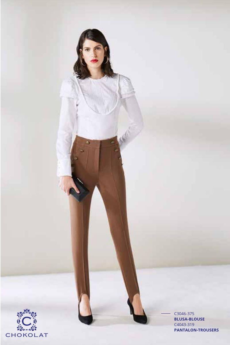 0c96bd7d739ec CHOKOLAT -Pantalones -Compra Online Mydolce.