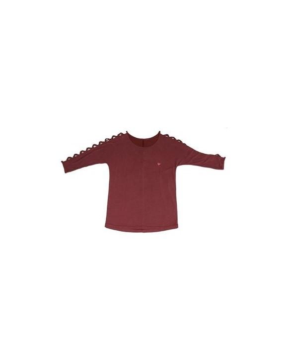 Camiseta LOLA CASADEMUNT hombros trenzados